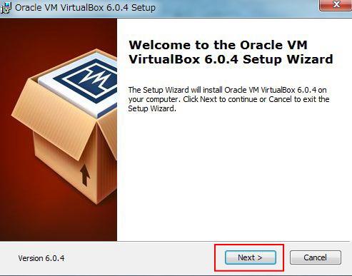 virtualboxインストール1
