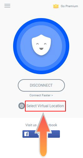 Select Virtual Location